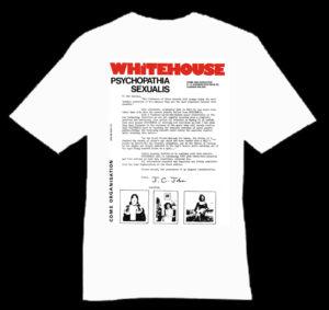 whitehouse PS shirt